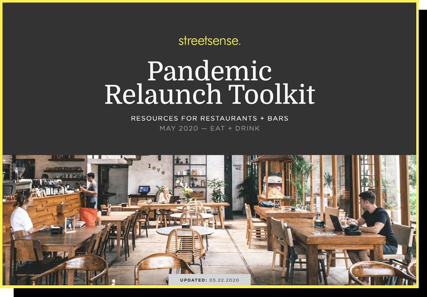 Restaurant Relaunch Tooklit Preveiw - Streetsense